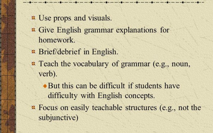 Strategies In Teaching English Grammar - Lawteched
