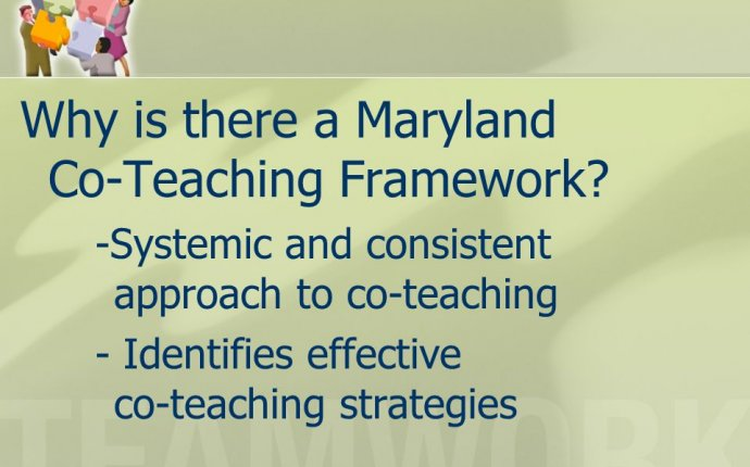 The Maryland Co-teaching Framework - ppt download