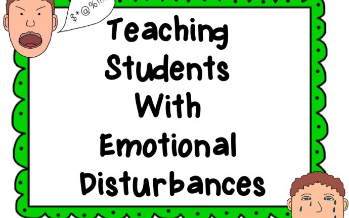 Emotional behavioral disorder teaching strategies