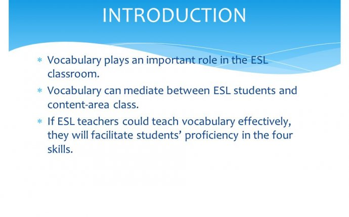 Effective Strategies For Teaching Vocabulary Teaching Methods