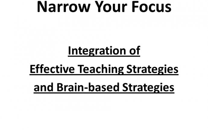 research paper About teaching strategies